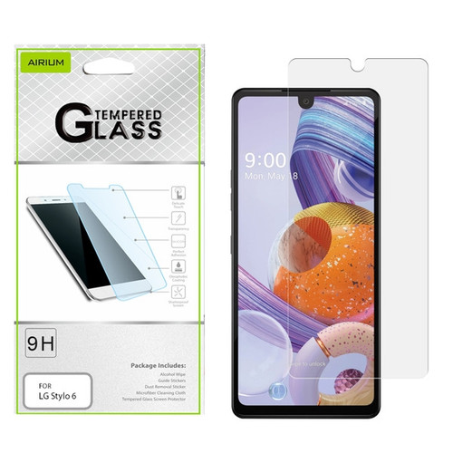 Airium Tempered Glass Screen Protector (2.5D) for LG Stylo 6 - Clear