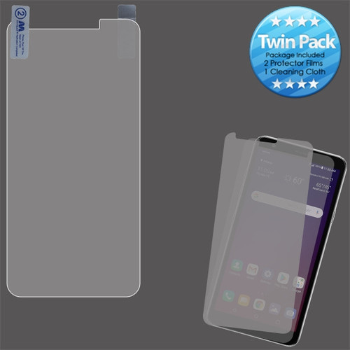 MyBat Screen Protector Twin Pack for LG Tribute Royal/Prime 2 / Aristo 4 Plus - Clear