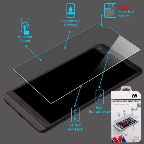 MyBat Tempered Glass Screen Protector (2.5D) for LG V20 - Clear