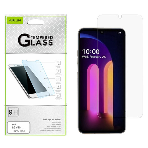 Airium Tempered Glass Screen Protector (2.5D) for LG V60 ThinQ (5G) - Clear