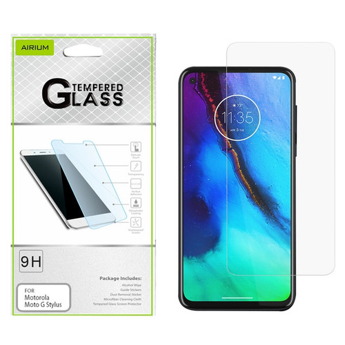 Airium Tempered Glass Screen Protector (2.5D) for Motorola Moto G Stylus / Moto G Power - Clear