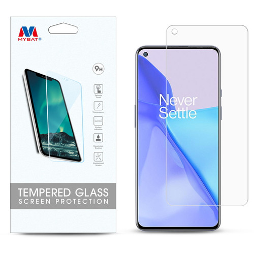 MyBat Tempered Glass Screen Protector (2.5D) for Oneplus 9 - Clear