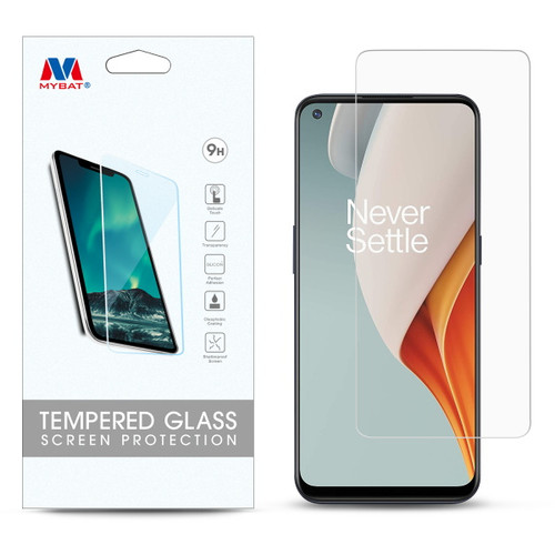 MyBat Tempered Glass Screen Protector (2.5D) for Oneplus Nord N100 - Clear