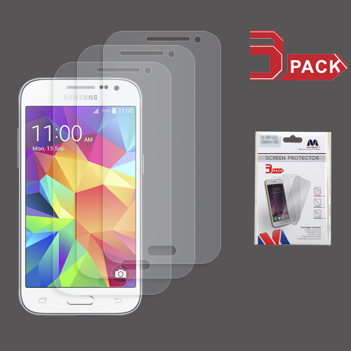 MyBat Screen Protector (3-pack) for Samsung G360 (Prevail LTE)/Galaxy Core Prime / Galaxy Prevail Lte - Clear