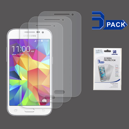 Asmyna Screen Protector (3-pack) for Samsung G360 (Prevail LTE)/Galaxy Core Prime / Galaxy Prevail Lte - Clear