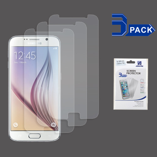 Asmyna Screen Protector (3-pack) for Samsung G920 (Galaxy S6) - Clear