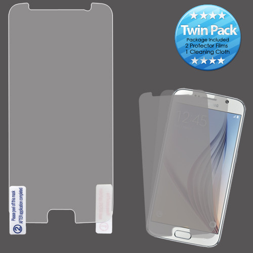 Asmyna Screen Protector Twin Pack for Samsung G920 (Galaxy S6) - Clear