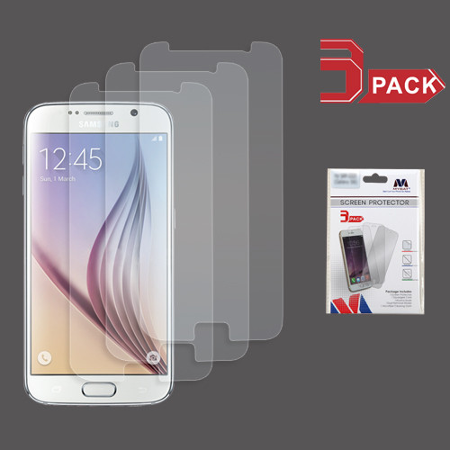 MyBat Screen Protector (3-pack) for Samsung G920 (Galaxy S6) - Clear