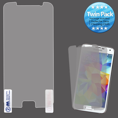 MyBat Screen Protector Twin Pack for Samsung G920 (Galaxy S6) - Clear