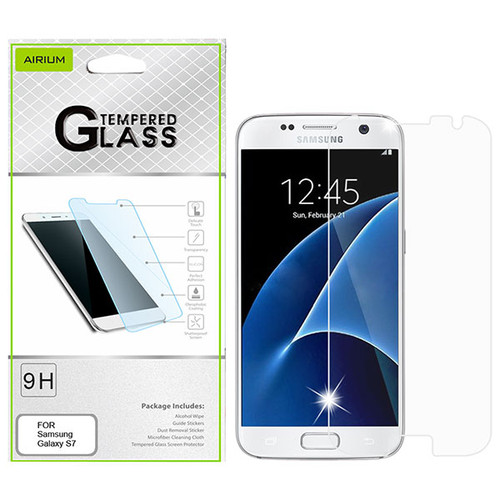 Airium Tempered Glass Screen Protector (2.5D) for Samsung G930 (Galaxy S7) / G920 (Galaxy S6) - Clear