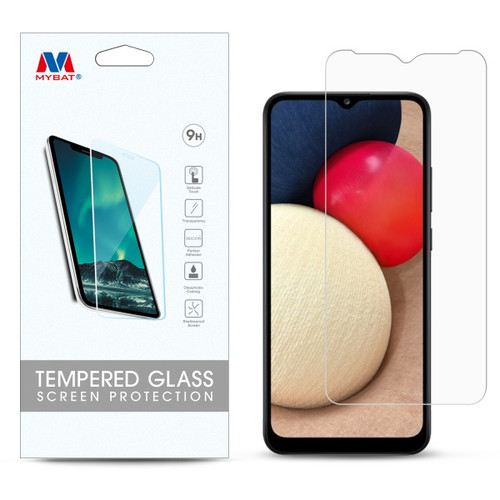 MyBat Tempered Glass Screen Protector (2.5D) for Samsung Galaxy A02s - Clear
