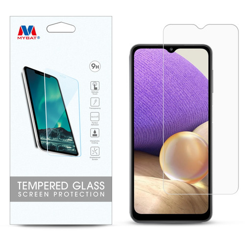 MyBat Tempered Glass Screen Protector (2.5D) for Samsung Galaxy A32 5G - Clear