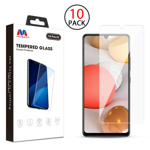 MyBat Tempered Glass Screen Protector (2.5D)(10-pack) for Samsung Galaxy A42 5G - Clear