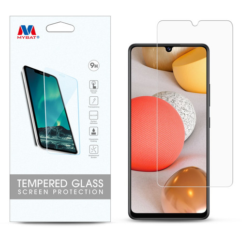 MyBat Tempered Glass Screen Protector (2.5D) for Samsung Galaxy A42 5G - Clear