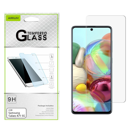 Airium Tempered Glass Screen Protector (2.5D) for Samsung Galaxy A71 5G - Clear