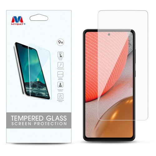 MyBat Tempered Glass Screen Protector (2.5D) for Samsung Galaxy A72 5G - Clear