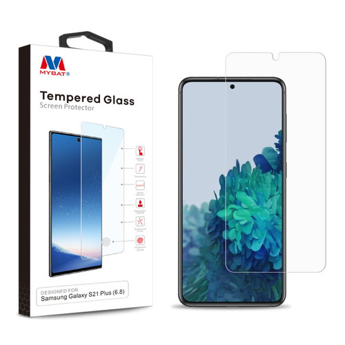 MyBat Tempered Glass Screen Protector (2.5D) for Samsung Galaxy S21 Plus - Clear