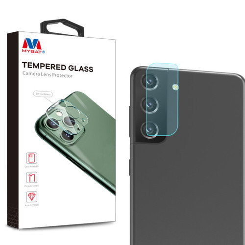 MyBat Tempered Glass Lens Protector (2.5D) for Samsung Galaxy S21 Plus - Clear