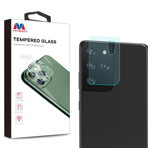 MyBat Tempered Glass Lens Protector (2.5D) for Samsung Galaxy S21 Ultra - Clear