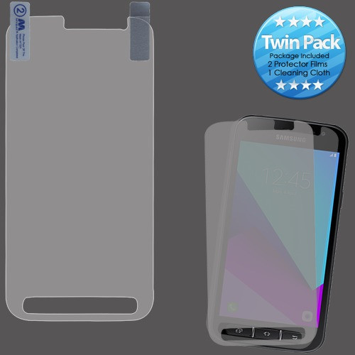 MyBat Screen Protector Twin Pack for Samsung Galaxy Xcover 4 - Clear