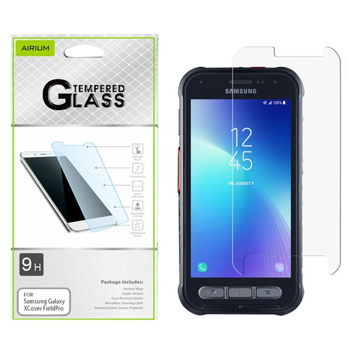 Airium Tempered Glass Screen Protector (2.5D) for Samsung Galaxy XCover FieldPro - Clear