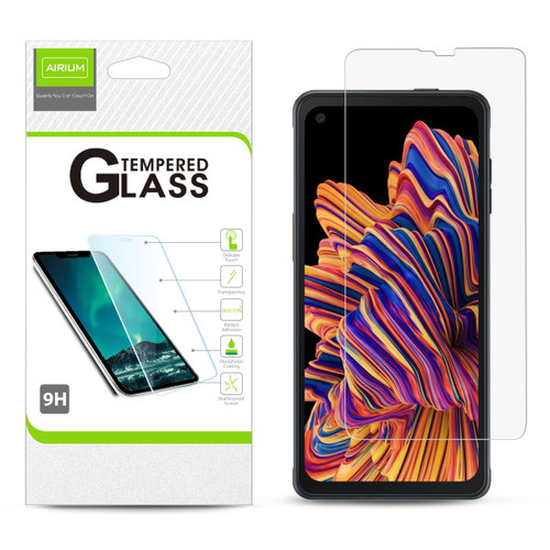 Airium Tempered Glass Screen Protector (2.5D) for Samsung Galaxy XCover Pro - Clear
