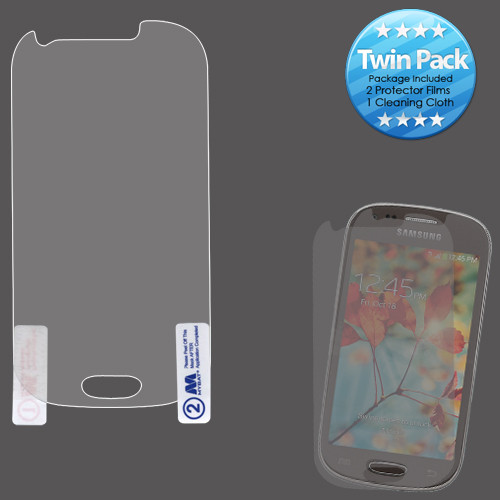 MyBat Screen Protector Twin Pack for Samsung T399 (Galaxy Light) - Clear