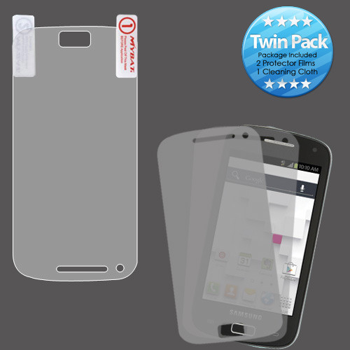 MyBat Screen Protector Twin Pack for Samsung T699 (Galaxy S Relay 4G) - Clear