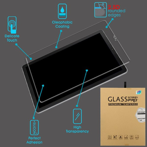 Airium Tempered Glass Screen Protector for Samsung T830 (Galaxy Tab S4 10.5) - Clear