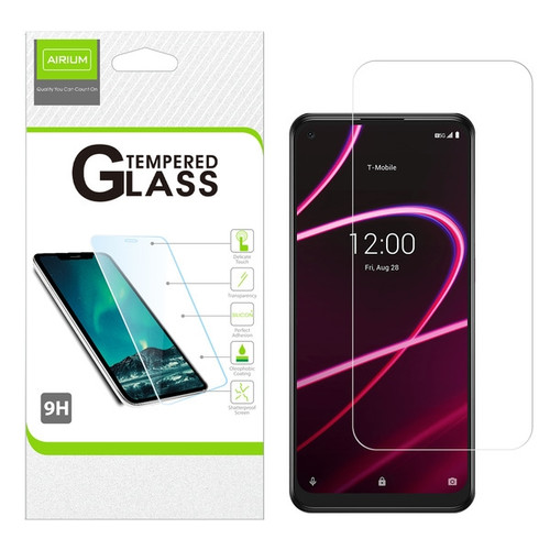 Airium Tempered Glass Screen Protector (2.5D) for T-mobile Revvl 5G / TCL Revvl 5G - Clear