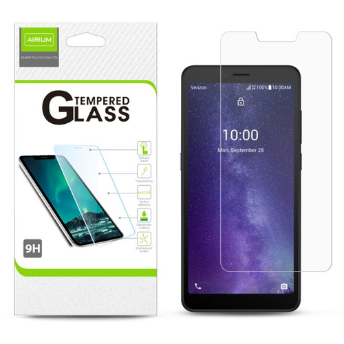 Airium Tempered Glass Screen Protector (2.5D) for T-mobile TCL Signa - Clear