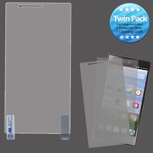 MyBat Screen Protector Twin Pack for Zte Z936L (Lever LTE) - Clear
