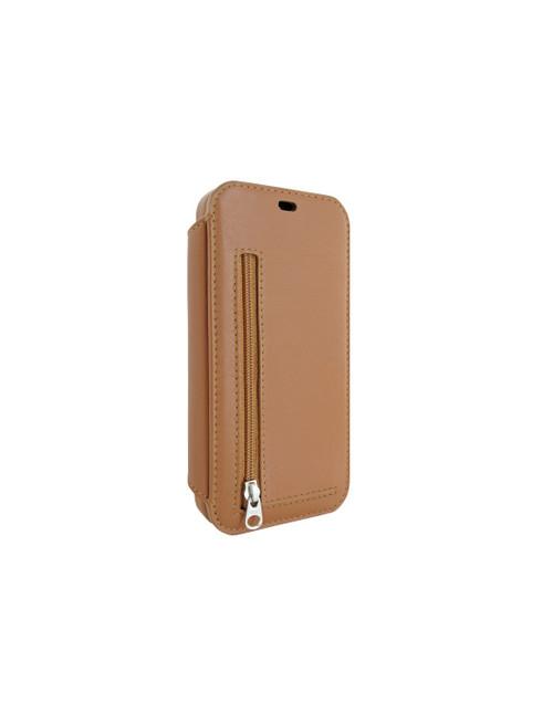 Piel Frama 873 Tan PocketSlim Leather Case for Apple iPhone 12 / iPhone 12 Pro