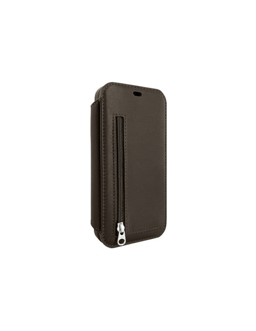 Piel Frama 873 Brown PocketSlim Leather Case for Apple iPhone 12 / iPhone 12 Pro