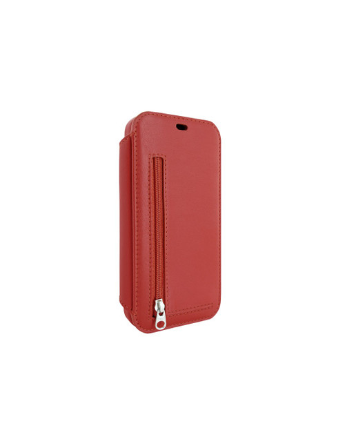 Piel Frama 873 Red PocketSlim Leather Case for Apple iPhone 12 / iPhone 12 Pro