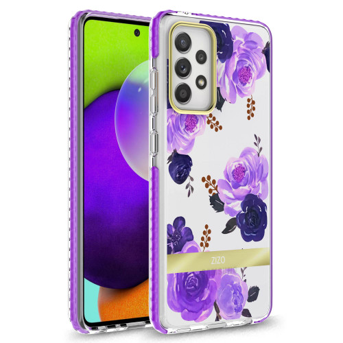 ZIZO DIVINE Series for Galaxy A52 5G Case - Thin Protective Cover - Nightshade DIN-SAMGA52-SHD