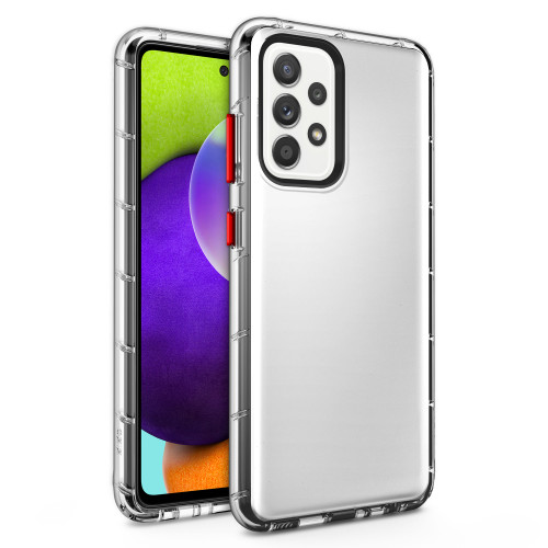 ZIZO SURGE Series for Galaxy A52 5G Case - Sleek Clear Case Customizable Buttons - Clear SUR-SAMGA52-CL