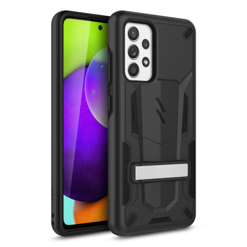 ZIZO TRANSFORM Series for Galaxy A52 5G Case - Rugged Dual-layer Protection with Kickstand - Black TFM-SAMGA52-BKBK