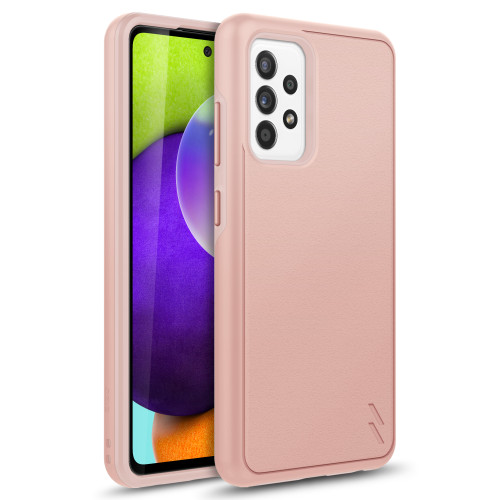 ZIZO REALM Series for Galaxy A52 5G Case - Sleek Modern Protection - Rose Gold RLM-SAMGA52-RGD