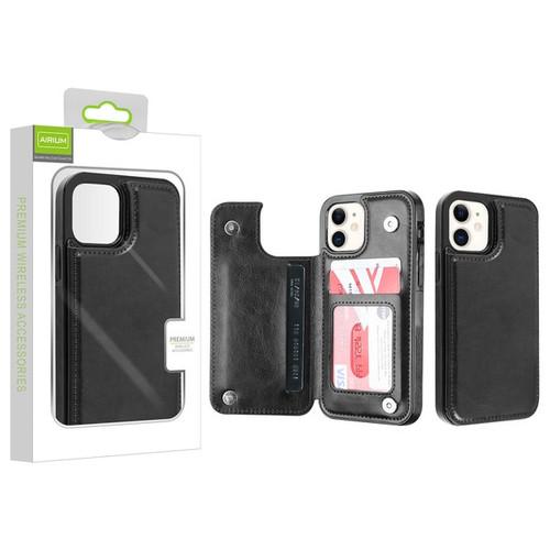 Airium Stow Wallet Case for Apple iPhone 12 mini (5.4) - Black