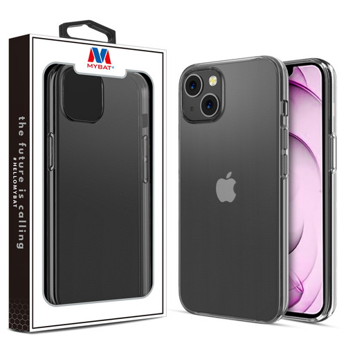 MyBat Candy Skin Cover for Apple iPhone 13 mini (5.4) - Glossy Transparent Clear