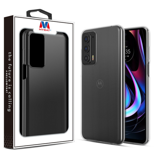 MyBat Candy Skin Cover for Motorola edge (2021) - Glossy Transparent Clear