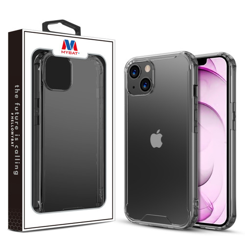 MyBat Sturdy Gummy Cover for Apple iPhone 13 mini (5.4) - Highly Transparent Clear / Transparent Clear