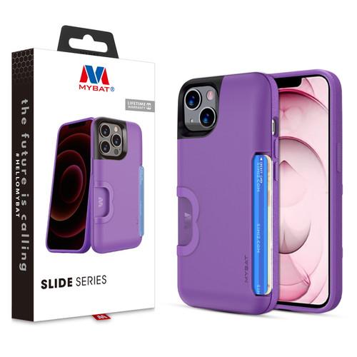 MyBat Slide Series Case for Apple iPhone 13 (6.1) - Purple