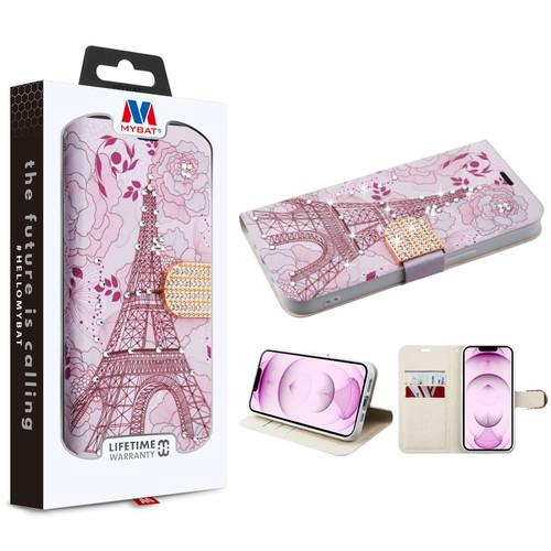 MyBat MyJacket Wallet Diamond Series for Apple iPhone 13 mini (5.4) - Eiffel Tower