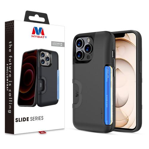 MyBat Slide Series Case for Apple iPhone 13 Pro (6.1) - Black