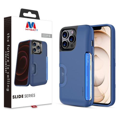 MyBat Slide Series Case for Apple iPhone 13 Pro (6.1) - Blue