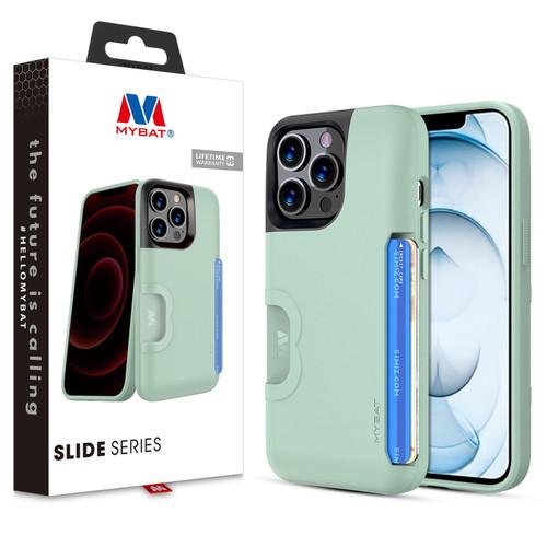 MyBat Slide Series Case for Apple iPhone 13 Pro Max (6.7) - Sage