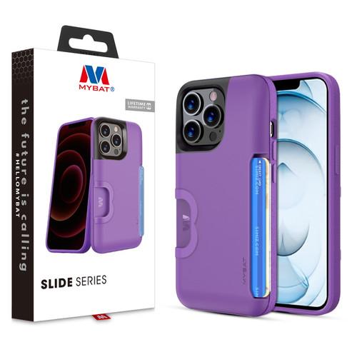 MyBat Slide Series Case for Apple iPhone 13 Pro Max (6.7) - Purple
