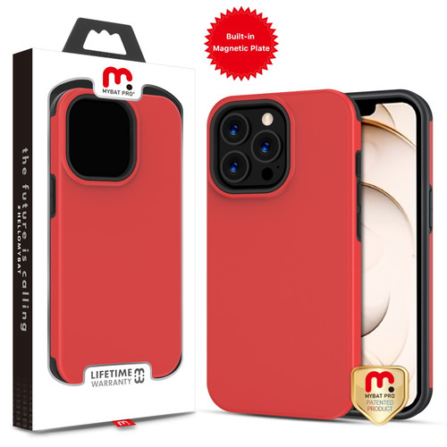 MyBat Pro Fuse Series Case with Magnet for Apple iPhone 13 Pro (6.1) - Red